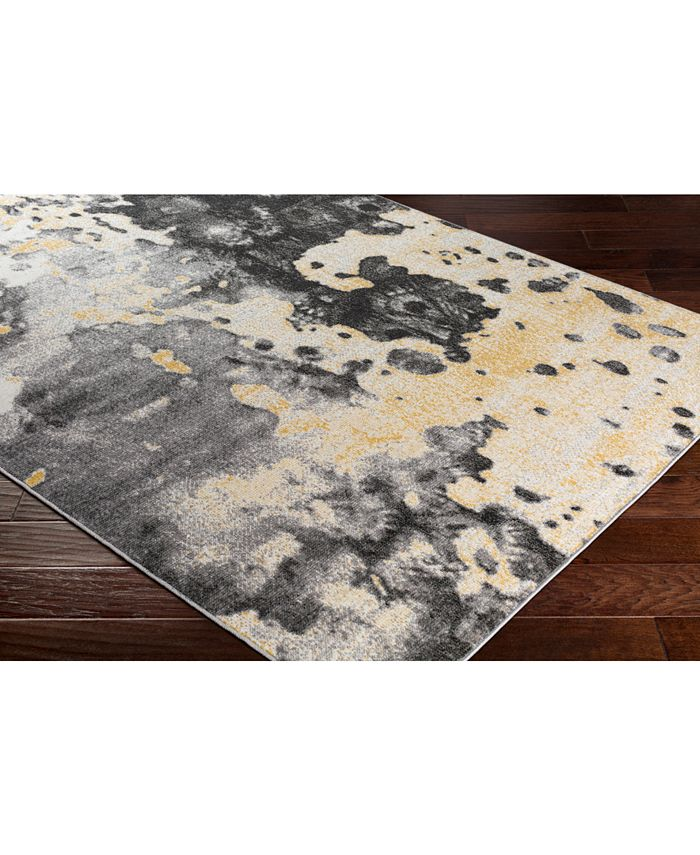 """Abbie & Allie Rugs - Rafetus ETS-2326 Butter 18"""" Square Swatch"""