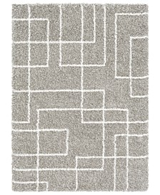 Kodiak KDK-1033 Light Gray 2' x 3' Area Rug