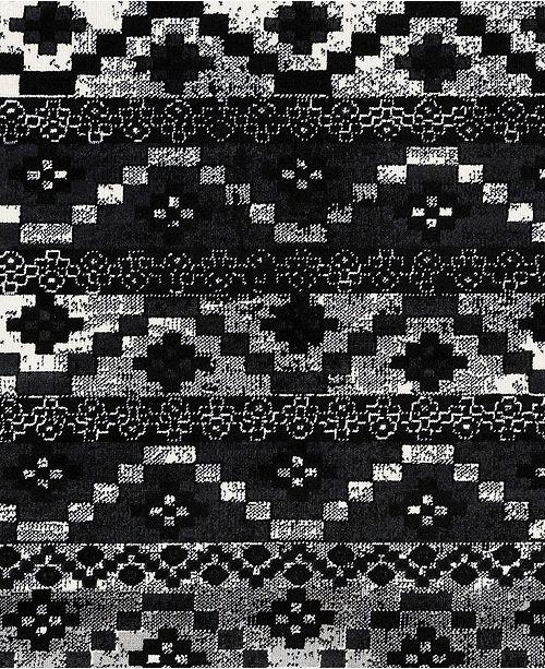 """Surya Mumbai MUM-2320 Black 18"""" Square Swatch"""