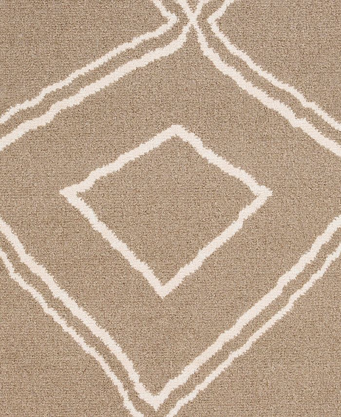 """Abbie & Allie Rugs - Oslo OSL-2309 Camel 18"""" Square Swatch"""