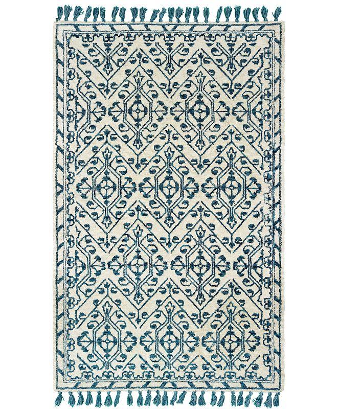 Oriental Weavers Madison 61408 Ivory/Blue 8' x 10' Area Rug