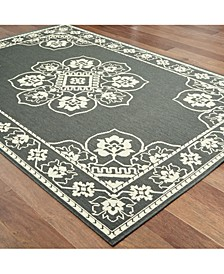 "Marina 7764 7'10"" Indoor/Outdoor Round Area Rug"