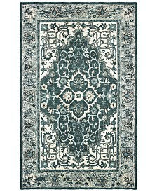 Oriental Weavers Zahra 75506 Grey/Blue 8' x 10' Area Rug