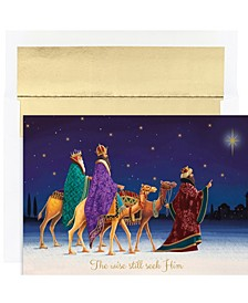 Masterpiece Studios Three Kings Holiday Boxed Cards