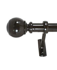 Decopolitan 1-Inch Outdoor Ball Telescoping Curtain Rod Set, 42-120-Inch, Oil Rubbed Bronze