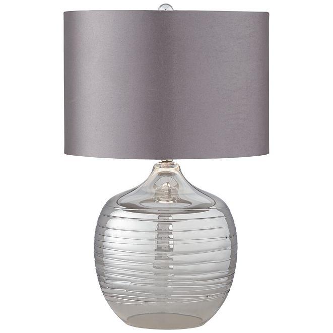 Pacific Coast Smoke Glass Table Lamp