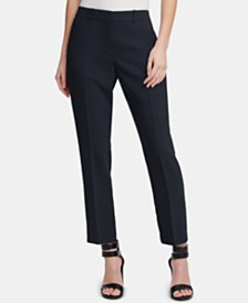 DKNY Petite Essex Ankle Pants