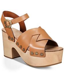 COACH Nessa Clog Sandals