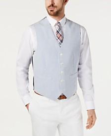 Tommy Hilfiger Men's THFlex Modern-Fit Seersucker Stripe Vest