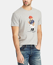 Polo Ralph Lauren Men's Classic Fit Polo Bear Cotton Shirt, Created for Macy's