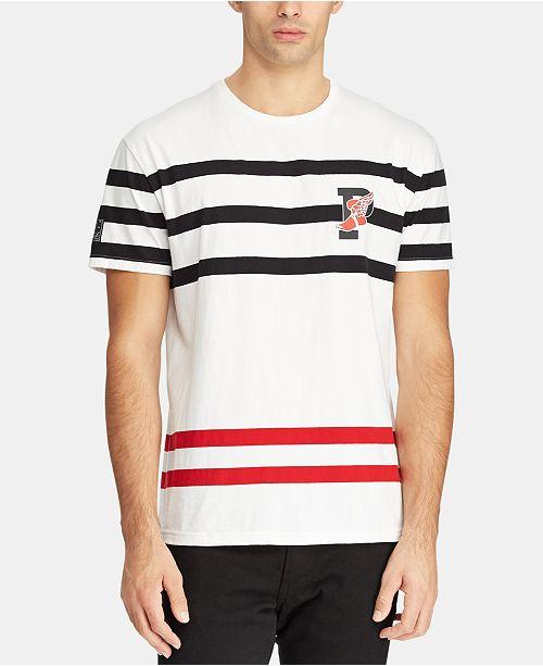 c94330d5 Polo Ralph Lauren Men's Active Fit P-Wing Cotton T-Shirt & Reviews ...