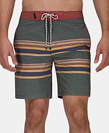 Hurley Men's Pendleton Badlands Striped Swim Trunks