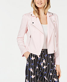 Maison Jules Moto Jacket, Created for Macy's
