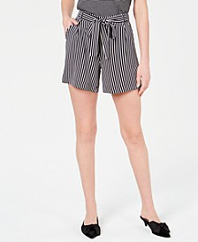 Tie-Waist Pull-On Shorts, Created for Macy's