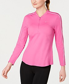 Court Dry Half-Zip Tennis Top