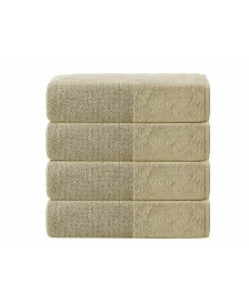 Enchante Home Incanto 4-Pc. Bath Towels Turkish Towel Set