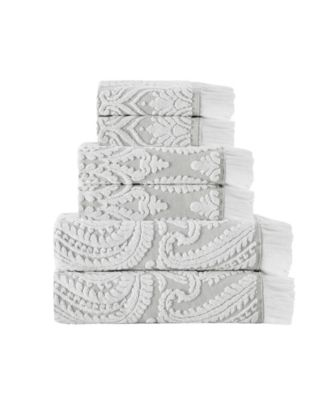 Laina 6-Pc. Turkish Cotton Towel Set
