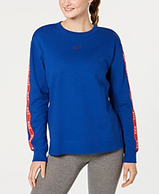 Sportswear Cotton Logo Sweatshirt