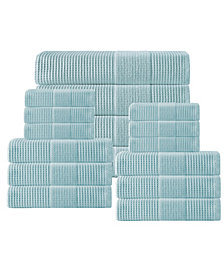 Enchante Home Ria 16-Pc. Turkish Towel Set