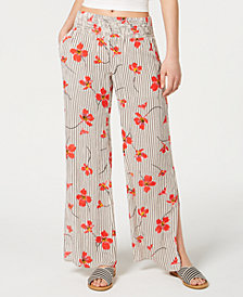 Billabong Juniors' Need You Mixed-Print Soft Pants