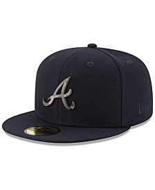 New Era Atlanta Braves Camo Capped 59FIFTY-FITTED Cap