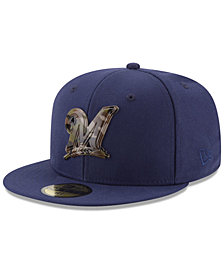 New Era Milwaukee Brewers Camo Capped 59FIFTY-FITTED Cap