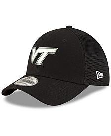New Era Virginia Tech Hokies Black White Neo 39THIRTY Cap
