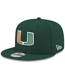 Boys' Miami Hurricanes Core 9FIFTY Snapback Cap
