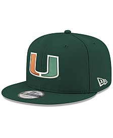 New Era Boys' Miami Hurricanes Core 9FIFTY Snapback Cap