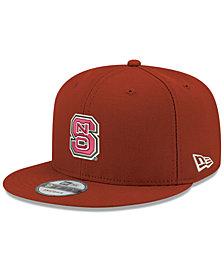 New Era Boys' North Carolina State Wolfpack Core 9FIFTY Snapback Cap