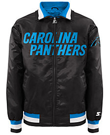 G-III Sports Men's Carolina Panthers Starter Captain II Satin Jacket