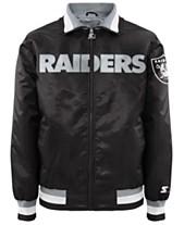 G-III Sports Men s Oakland Raiders Starter Captain II Satin Jacket ff402ce158d