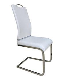 New Spec Modern U-Shape Dining Chair Set of 4 Pieces