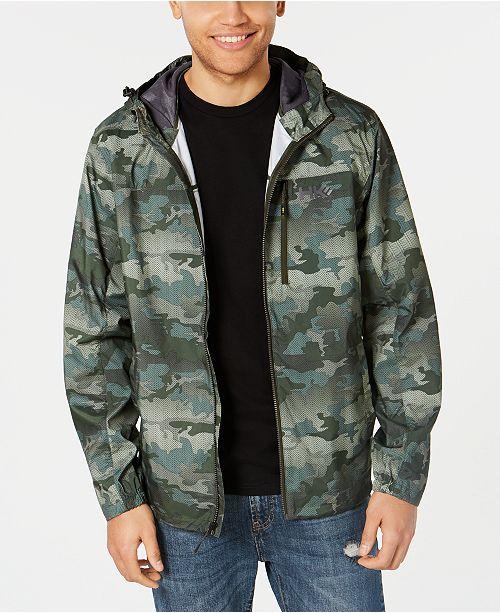 Hawke & Co. Outfitter Men's Hooded Rain Jacket