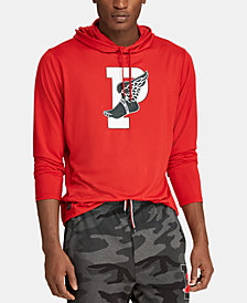 Polo Ralph Lauren Men's P-Wing Hooded Long-Sleeve T-Shirt, Created for Macy's , Created for Macy's