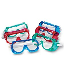 Colored Safety Goggles Set of 6