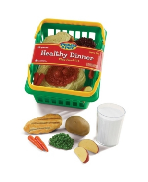 Learning Resources Pretend and Play Healthy Dinner Set