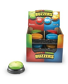 Lights and Sounds Buzzers Set of 12