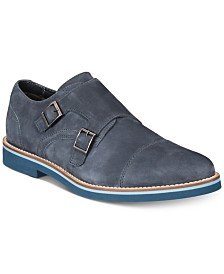 Bar III Men's Baxter Monk Strap Oxfords, Created for Macy's