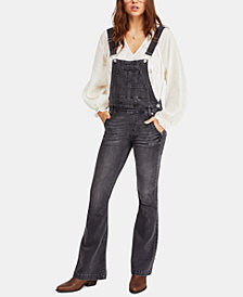 Free People Carly Flared Overalls