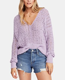 Free People Best of U V-Neck Sweater