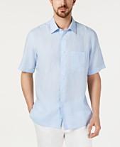 Tasso Elba Men s Cross-Dye Linen Shirt 77c1e76a6