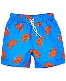Little Me Crab Baby Boys Swim Trunks