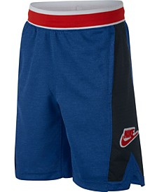 Nike Big Boys Mesh-Panel Shorts