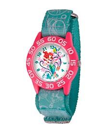 Disney Ariel Girls' Plastic Time Teacher Watch
