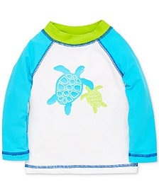Little Me Turtle Baby Boys Rashguard