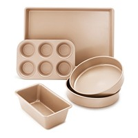 Martha Stewart Collection Nonstick Champagne 5-Pc. Bakeware Set Deals