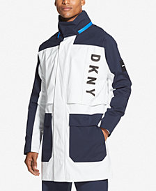 DKNY Men's Colorblocked Coat