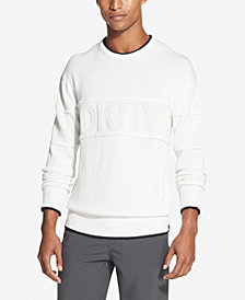 DKNY Men's Logo Graphic Sweater