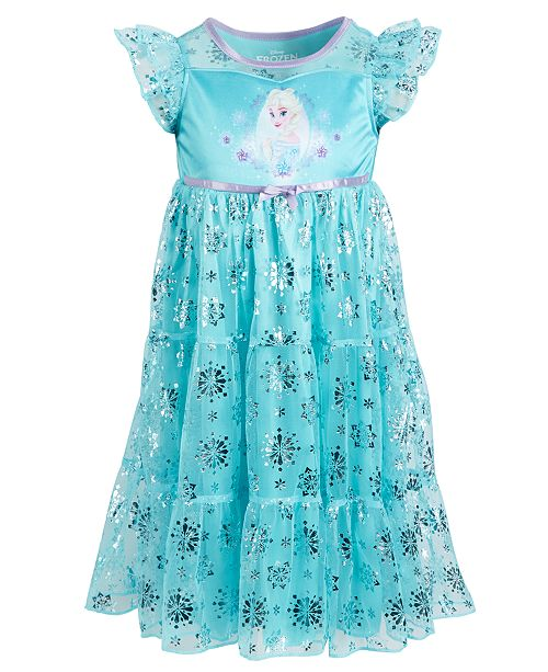 Frozen Toddler Girls Elsa Nightgown